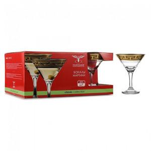 Набор бокалов для мартини Греческий узор 170 мл (6 шт) EAV03-410