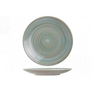 Тарелка 22 см мелкая Turbolino синяя 674935