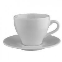 Чашка з блюдцем 300мл Paula 1728/1723