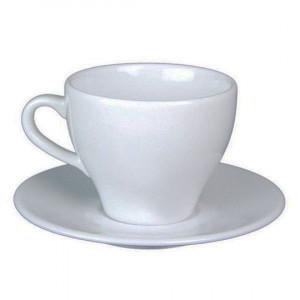 Чашка 200 мл чайная Paula с блюдцем 1702/1712