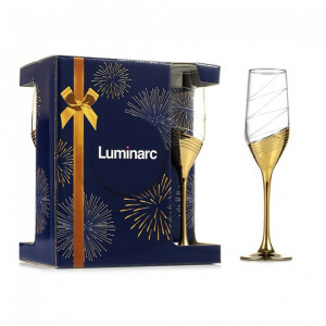 Celeste бокал 160 мл шампанское Золотое кольцо Р1651(6 шт)